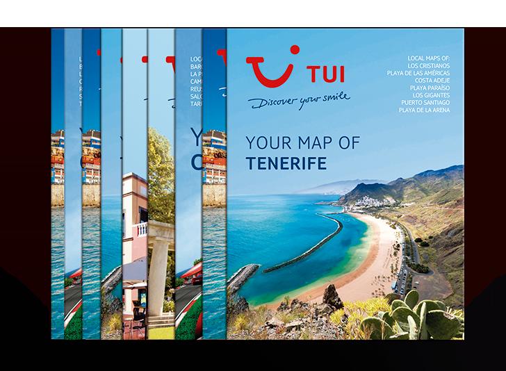 Productos Más que Mapas. Mapas Tui, Más que Mapas Tenerife